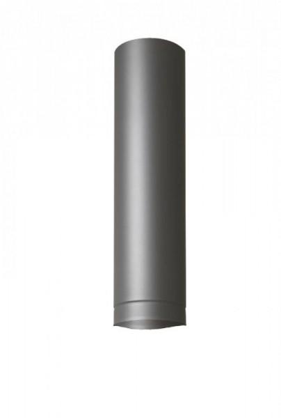 HermaPro 0,5m Schornstein Verlängerung für Vario 80 - Grau