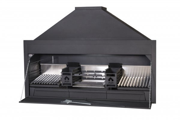 Braai Einbau Grillkamin Dirty Harry 2300