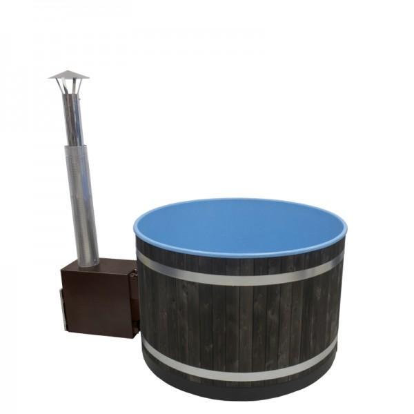 Kunststoff Badezuber Breezy M Fichte Kohleschwarz