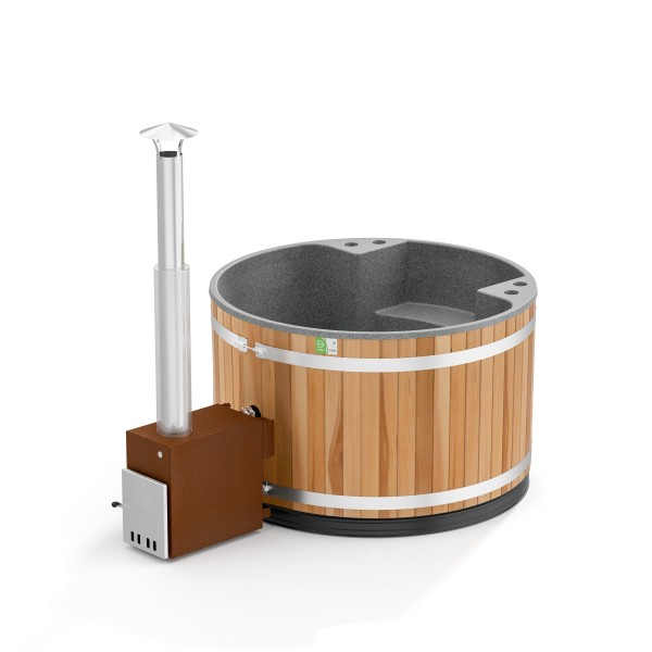 Kunststoff Hottub Family Tub M Red Cedar