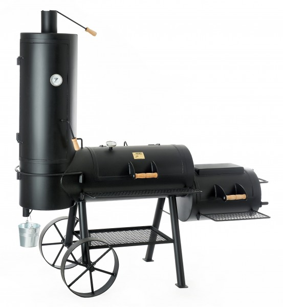 "JOE's BBQ Smoker 16"" Chuckwagon mit Kochplatte"