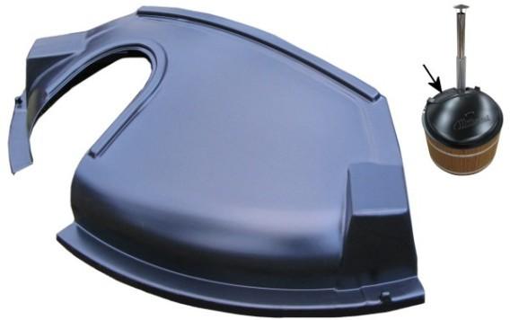 ABS Kunststoffdeckel M Ofenseite (Innenofen)